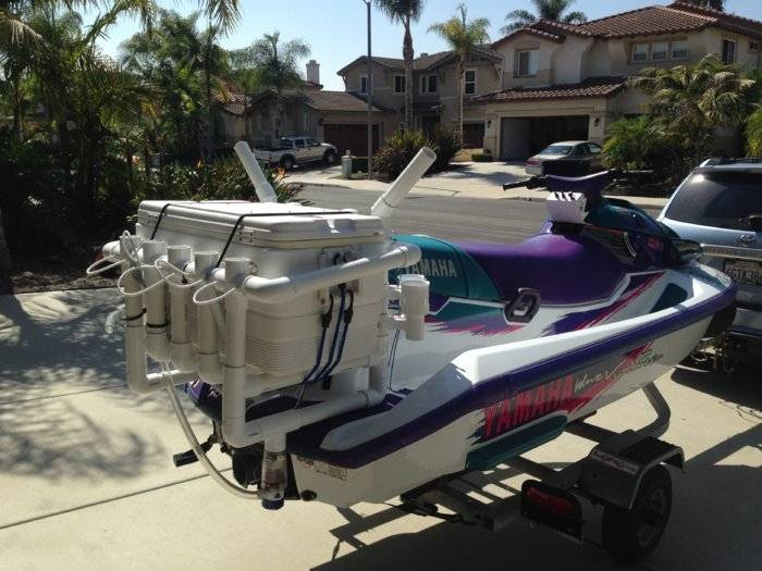 SOLD! 1100 CC Wave Runner Fishing Machine $2500 OBO SOLD