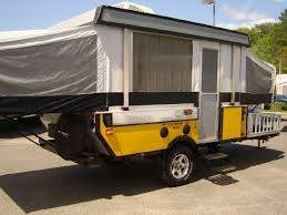fleetwood e2 off road tent trailer with atv storage platform bloodydecks. Black Bedroom Furniture Sets. Home Design Ideas