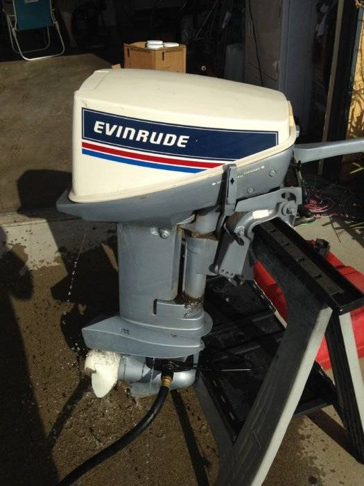 Evinrude 9 9 Hp Outboard Motor