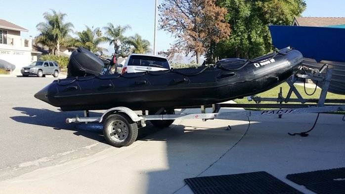 Zodiac Inflatable Boat >> FOR SALE: 2003 Zodiac FC470 Navy Seal Boat | Bloodydecks