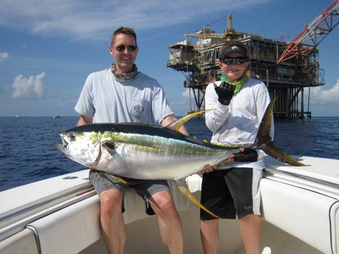 Lightning strikes twice another awesome offshore venice for Venice la fishing report