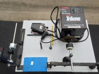 Berkley hd line winder bloodydecks for Professional fishing line spooler