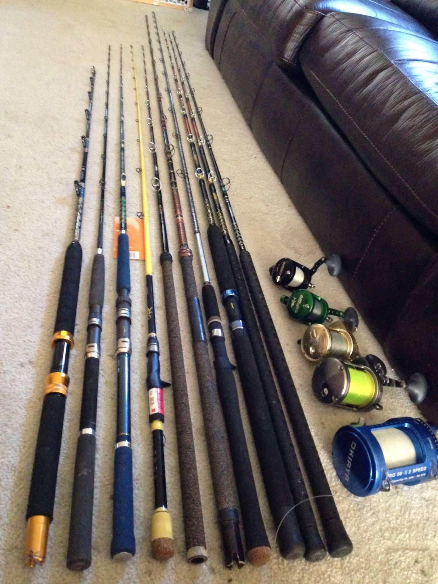 I HAVE TOO MUCH Fishing Gear! (AVETs, Trinidad, Torium, Calstar