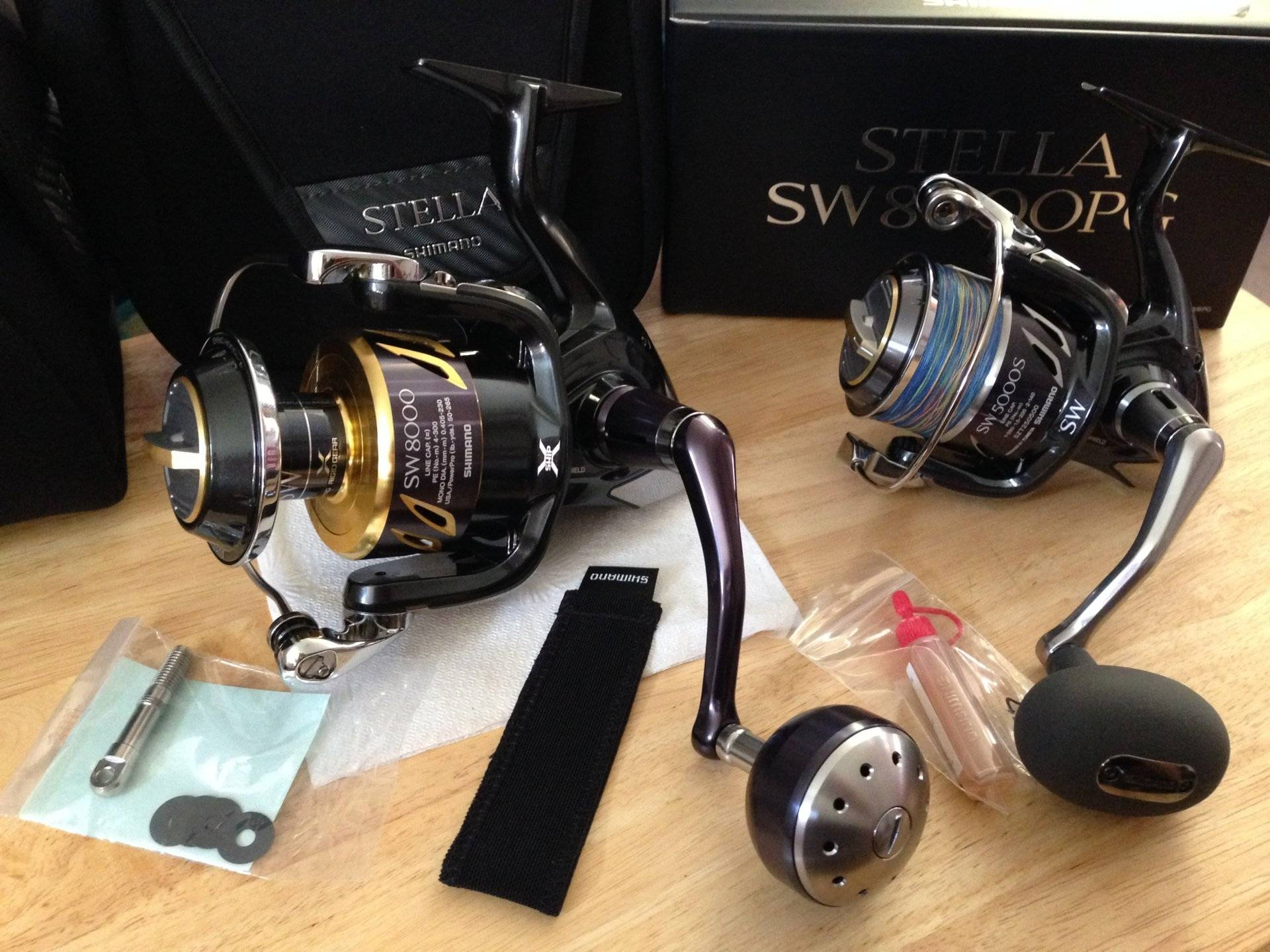 Shimano Stella 8000PG SWB Brand New | Bloodydecks