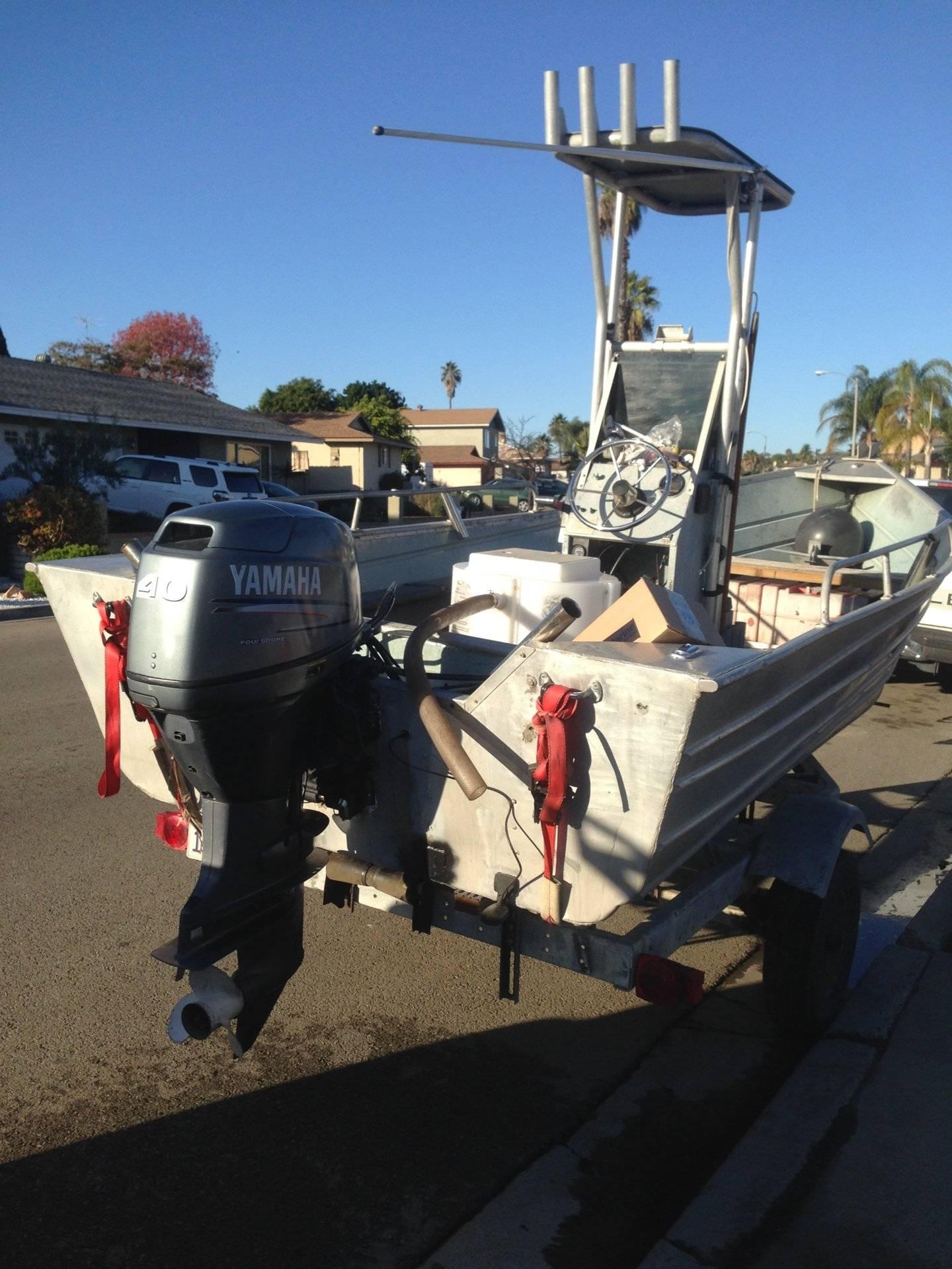 18 39 bayrunner w yamaha 40hp 4 stroke saltwater fishing for Yamaha escondido ca