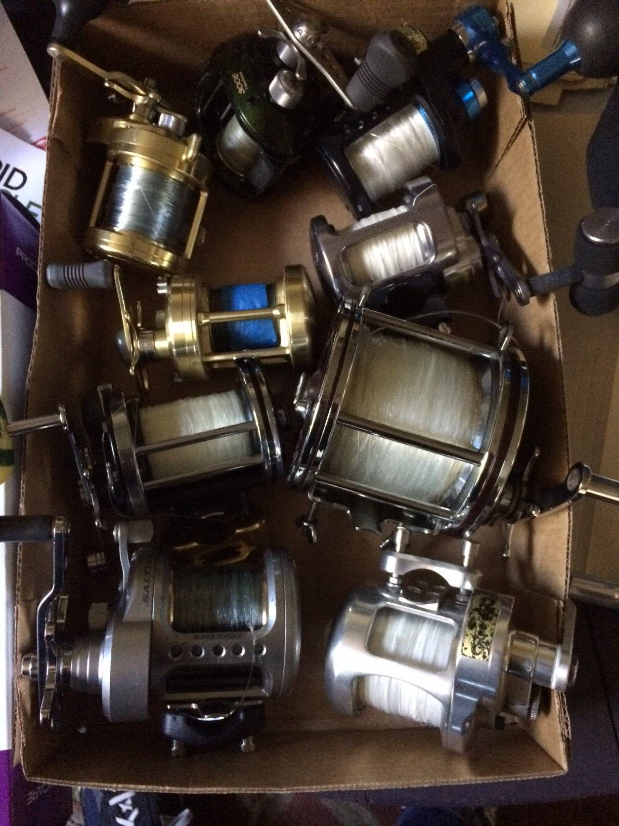 ca7eaf80ef2 1-Shimano Curado 300e braid.... SOLD Most offers are considered. All the  reels are in outstanding shape! I will respond to text much faster !!