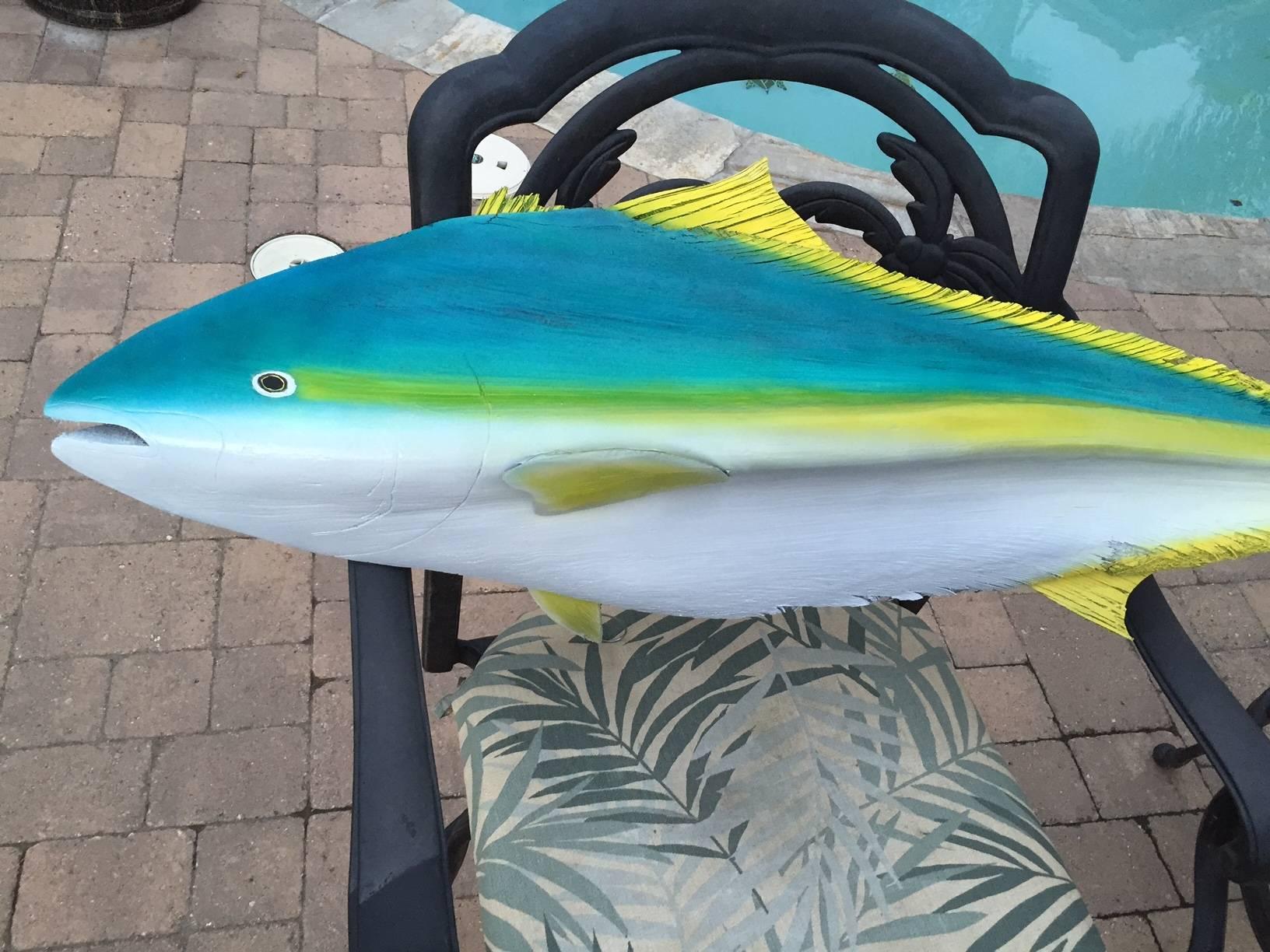 Fish mount art saltwater fishing forums for Fish sniffer forum