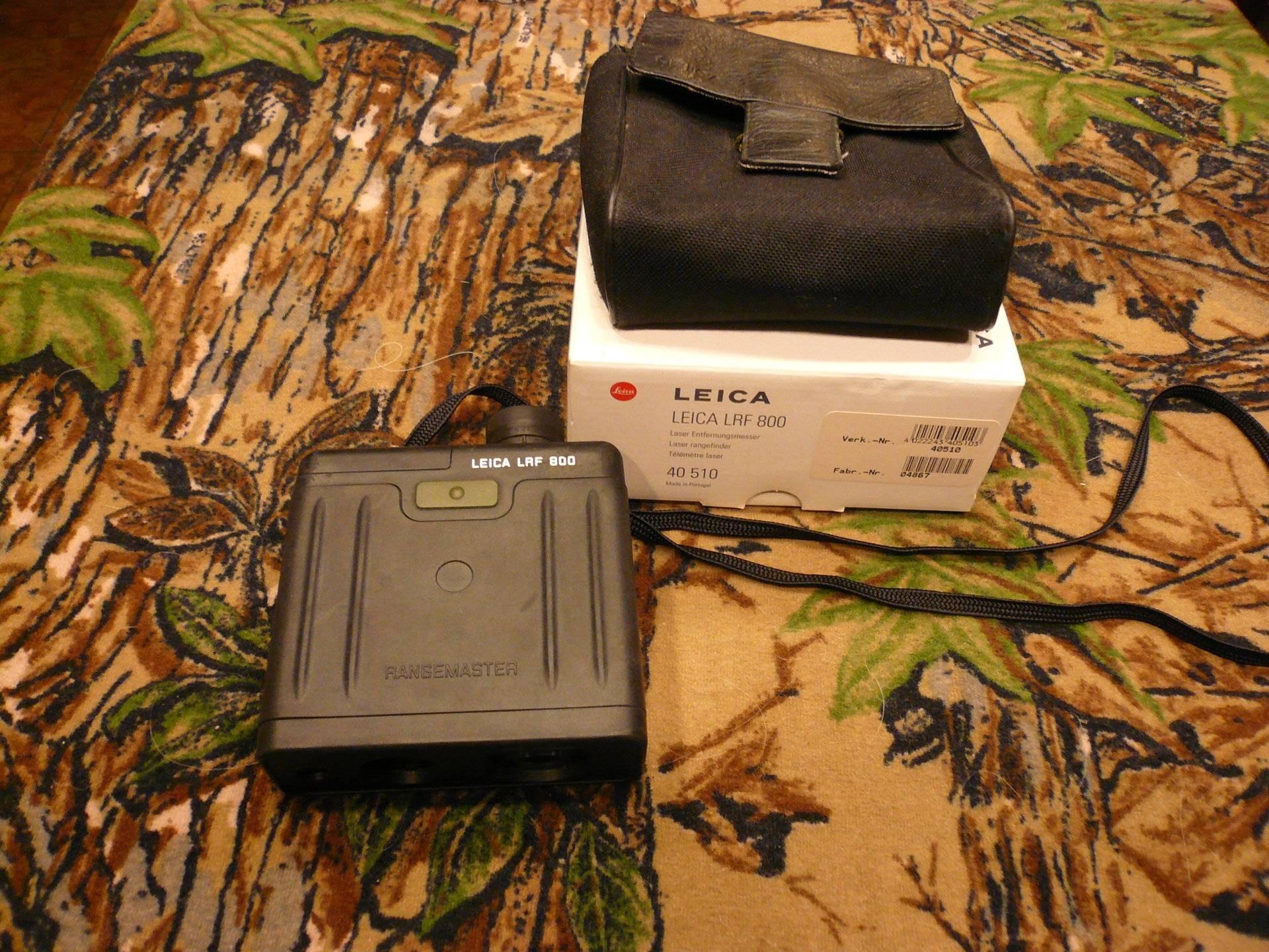 Leica Lrf 800 Rangemaster Entfernungsmesser : Leica lrf 800 rangefinder fore sale bloodydecks