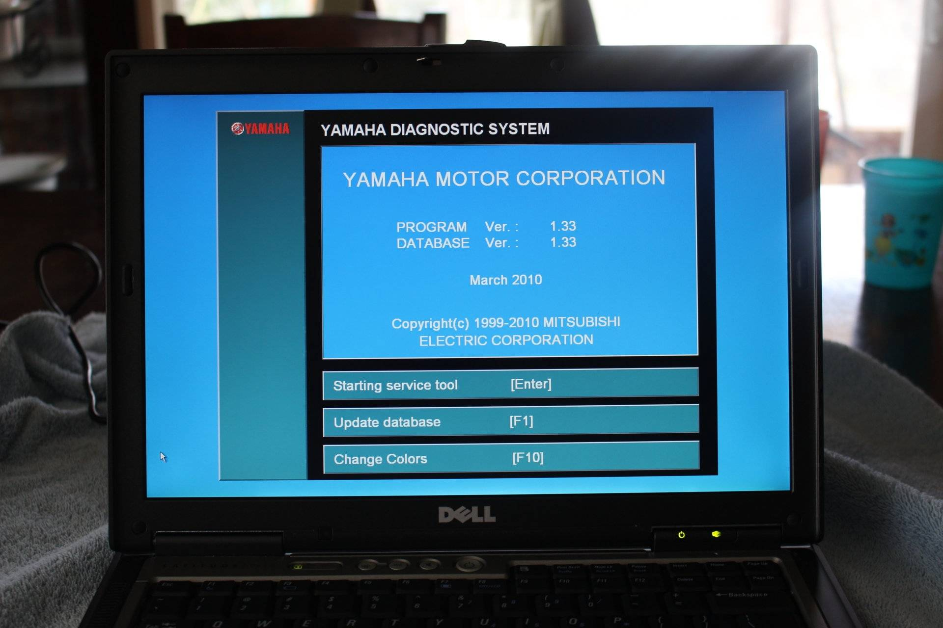 bloody deck special: yamaha diagnostic software kit