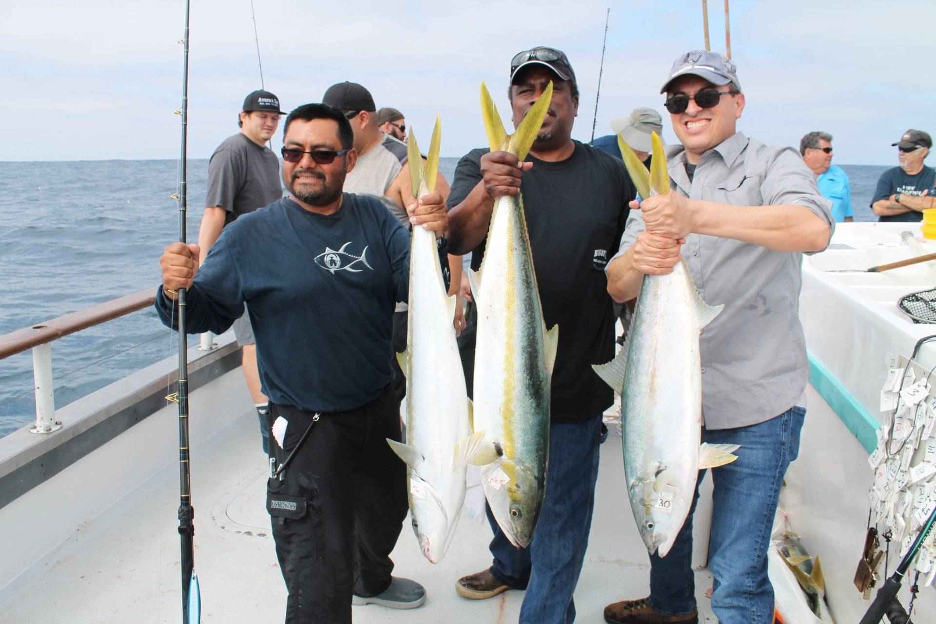 Fishing report from punta colonet aboard the chief for Seven b s fishing report