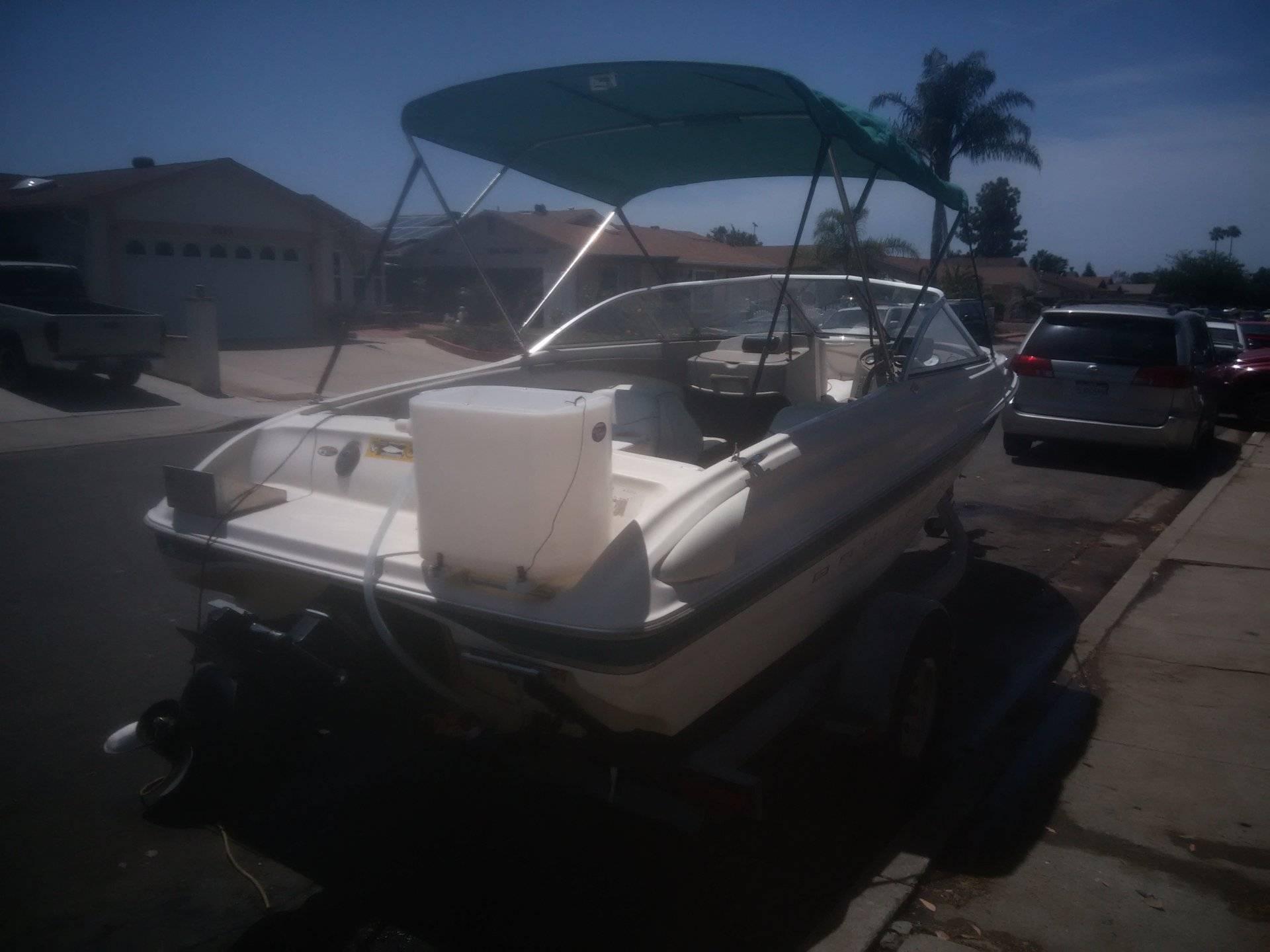 Bayliner Capri Fish Ski 1750 00 Mercruiser 3 0 Gm 135hp