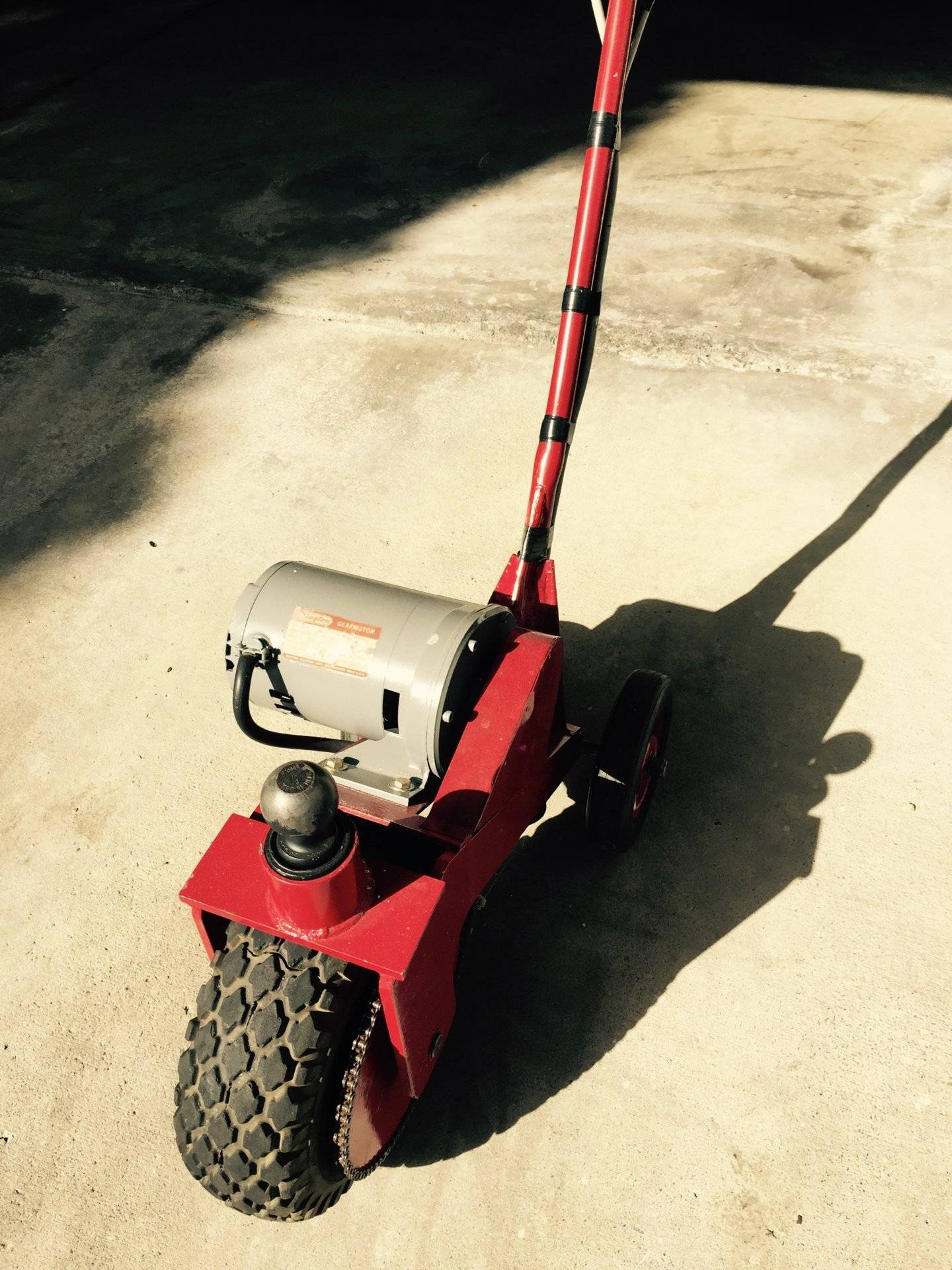 Electric Trailer Dolly >> Electric Power Dolly | Saltwater Fishing Forums
