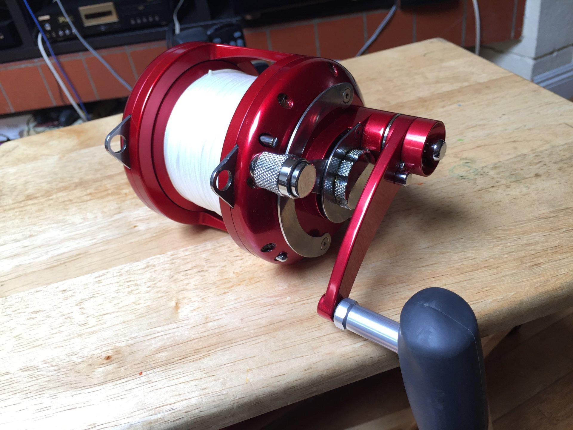 Reels for sale avet daiwa saltwater fishing forums for Fishing rods and reels for sale