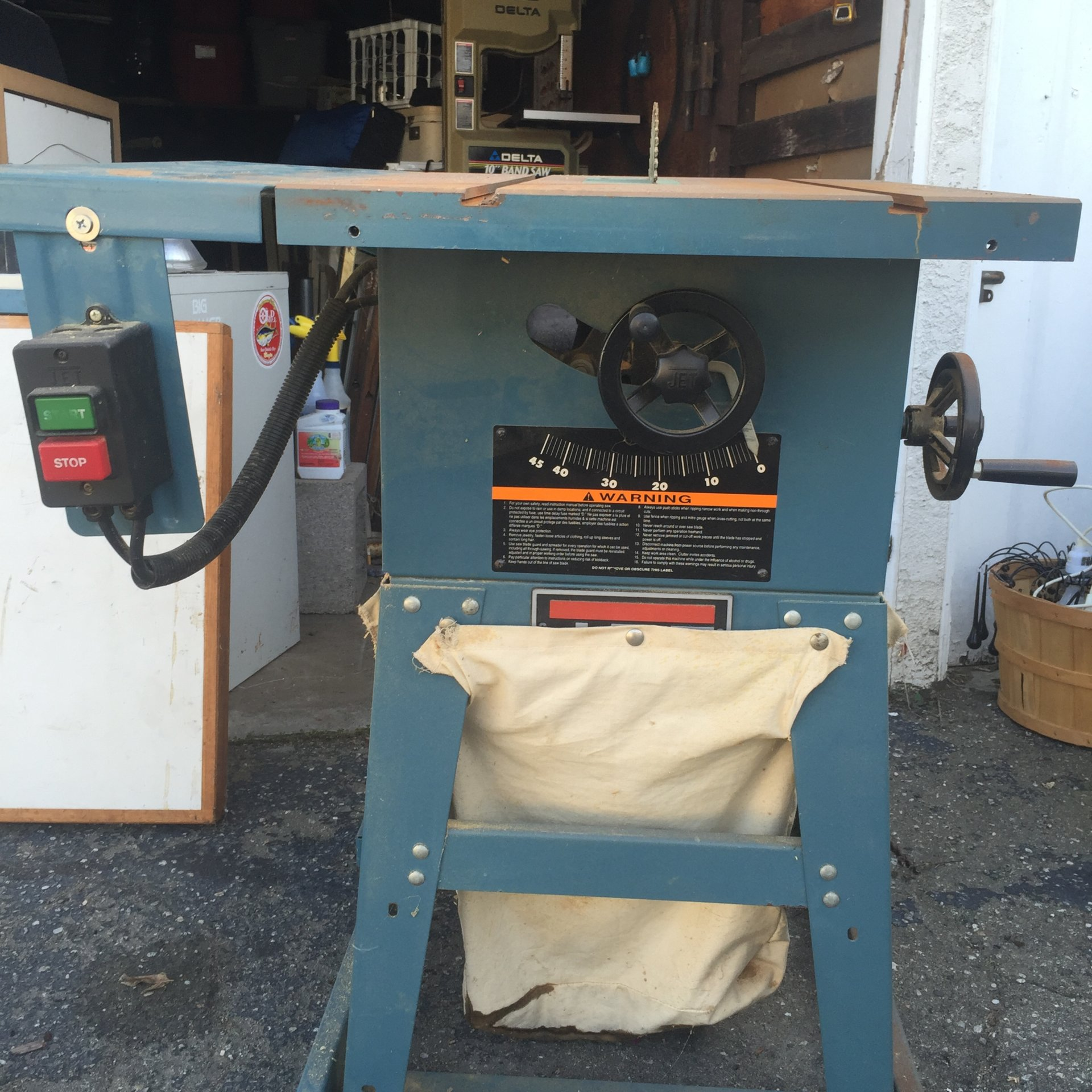 Jet 10 Table Saw Delta 10 Band Saw Bloodydecks