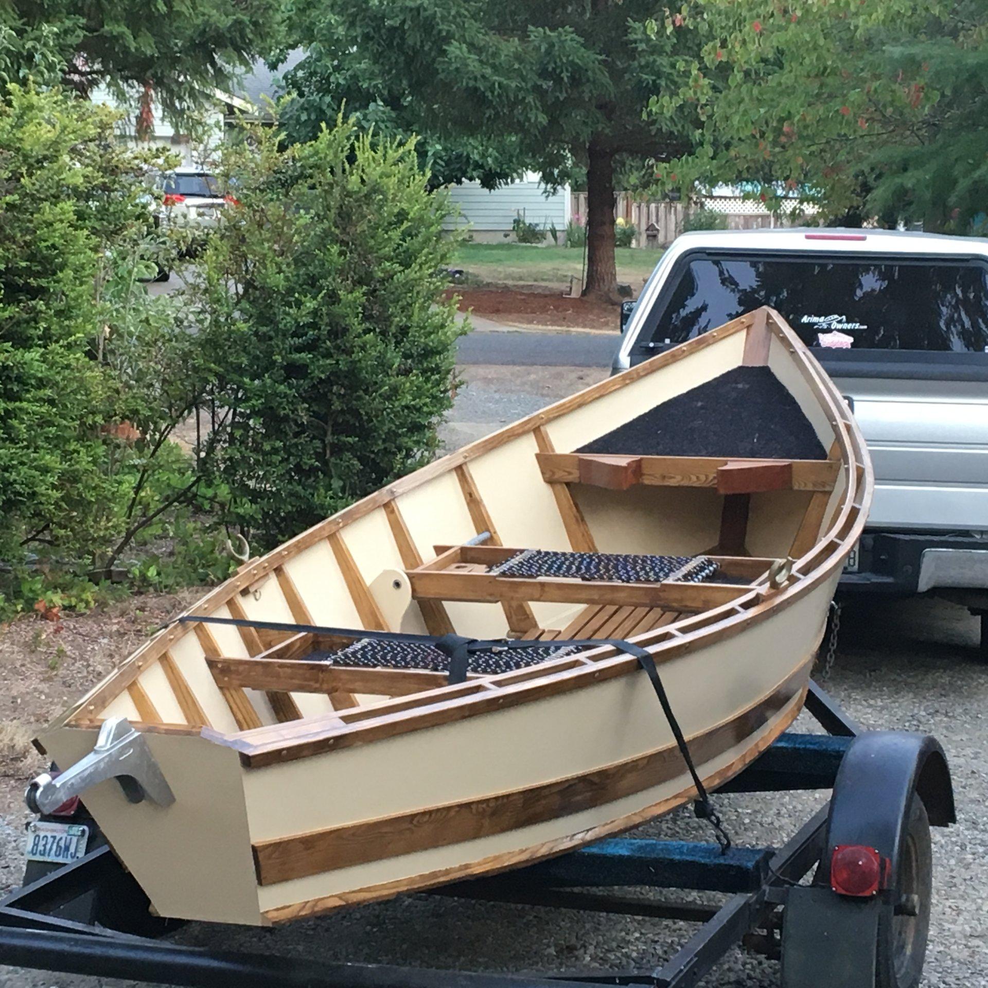 16ft Wood Drift Boat Bloodydecks