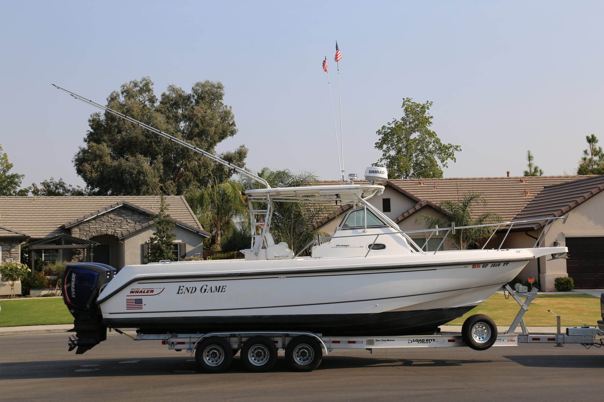 Here Is The Skinny Bloodydecks - Baja boat decals   easy removal