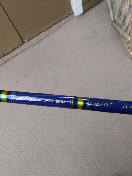 For sale graphtec 8 39 xl custom fishing rod bloodydecks for Custom fishing rods for sale