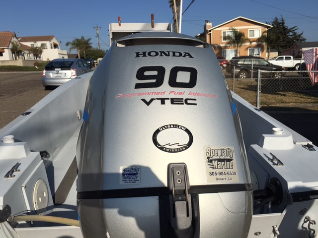 Center Console with 90HP Honda Outboard (Very low hours) Customized