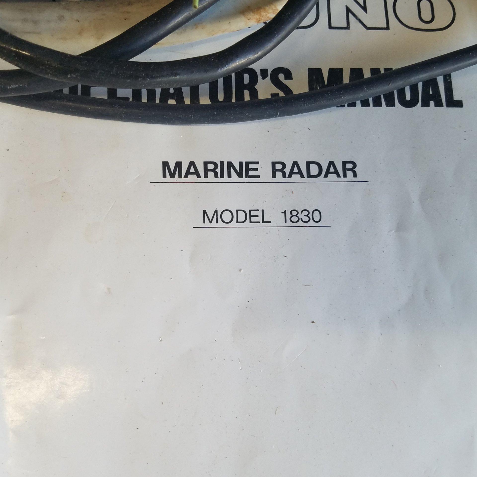 Furuno ff GPS radar   Bloodydecks