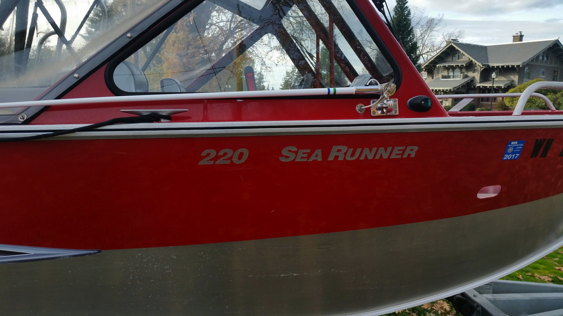 22ft Hewescraft Searunner for sale | Bloodydecks
