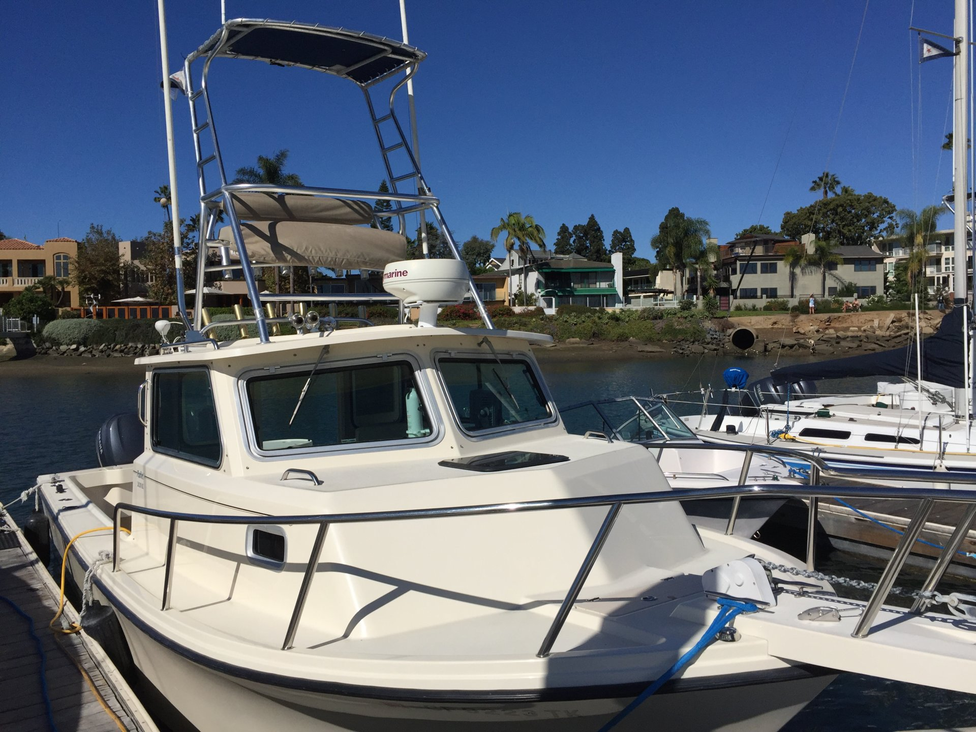 2006 Parker 2820 Xld Sport Cabin Fishing Boat Bloodydecks