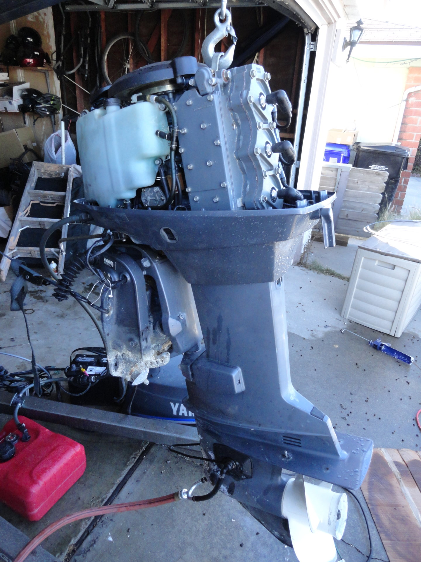 Yamaha 60 outboard 2001 20 shaft tlrz bloodydecks for Yamaha outboard service san diego