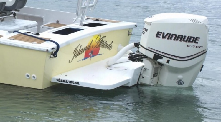 Ebay Boats Florida >> Swimstep and motor bracket in CA | Bloodydecks