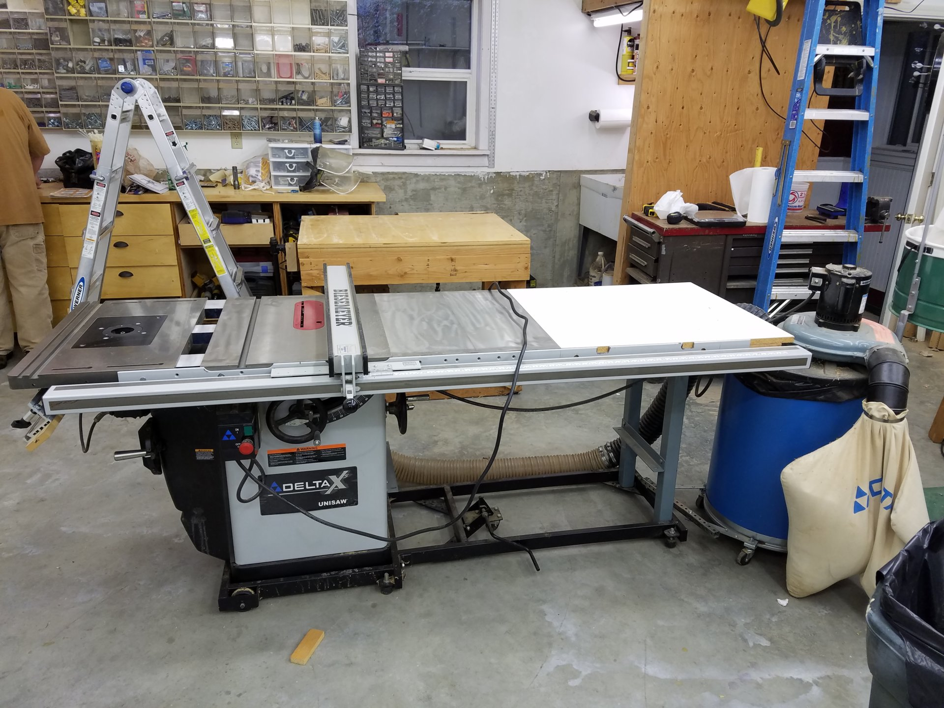 Delta Table Saw 36 L51x Bc50 Bloodydecks