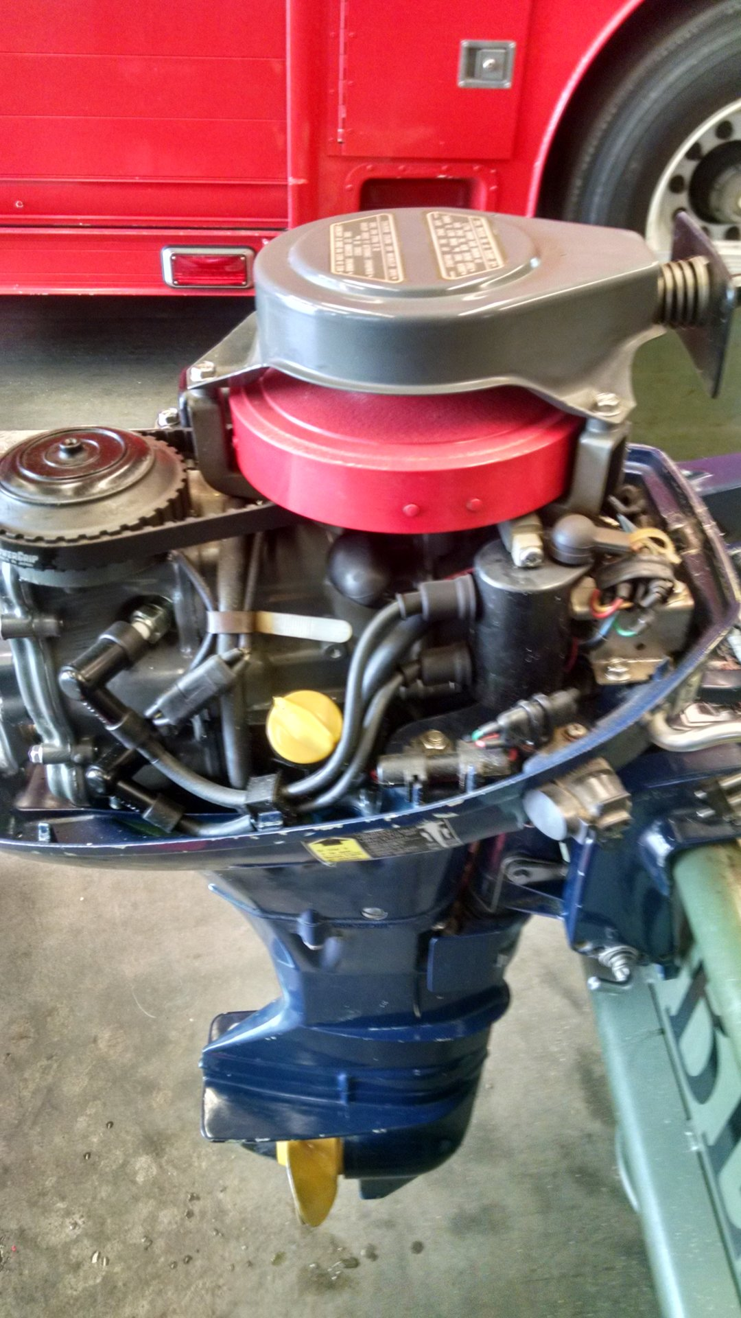 10hp Honda Outboard, B100S 4-stroke, excellent condition ...