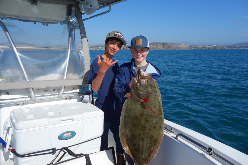 Dana point 3 day weekend halibut fishing 1 14 to 1 16 17 for Fishing dana point