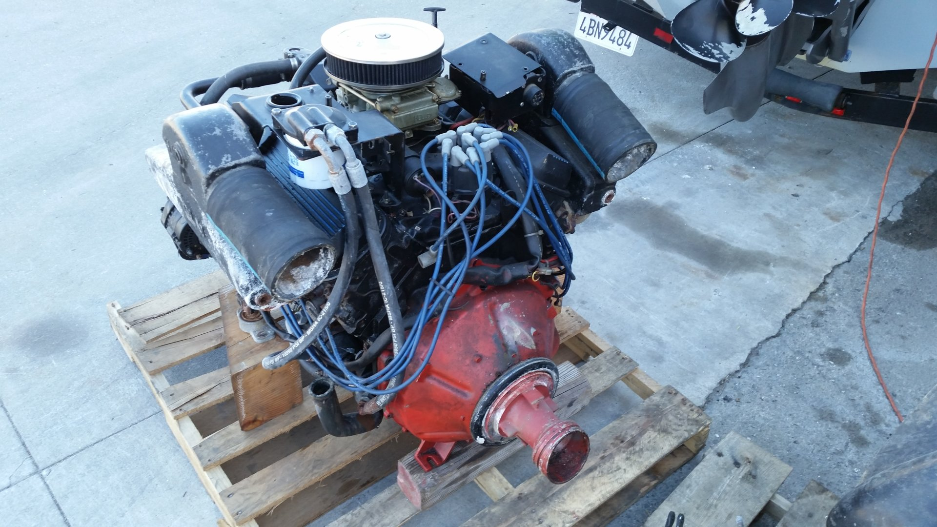 Volvo Penta 7.4GL/DP-E Package