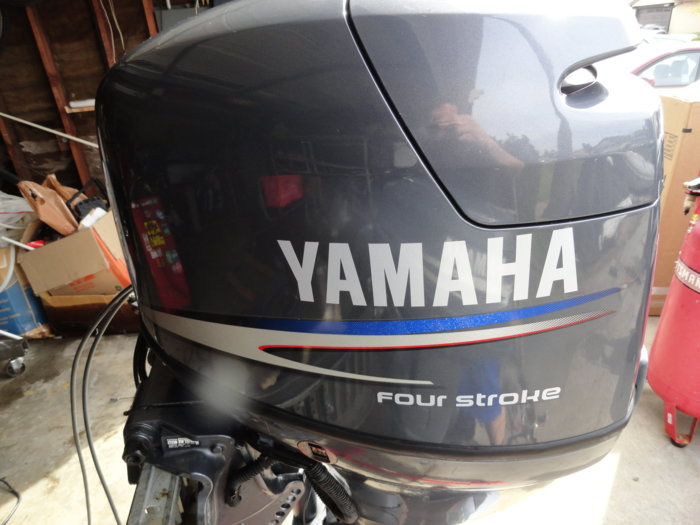 Yamaha f50 outboard fourstroke 50 hp 20 shaft bloodydecks for 2017 yamaha 225 outboard