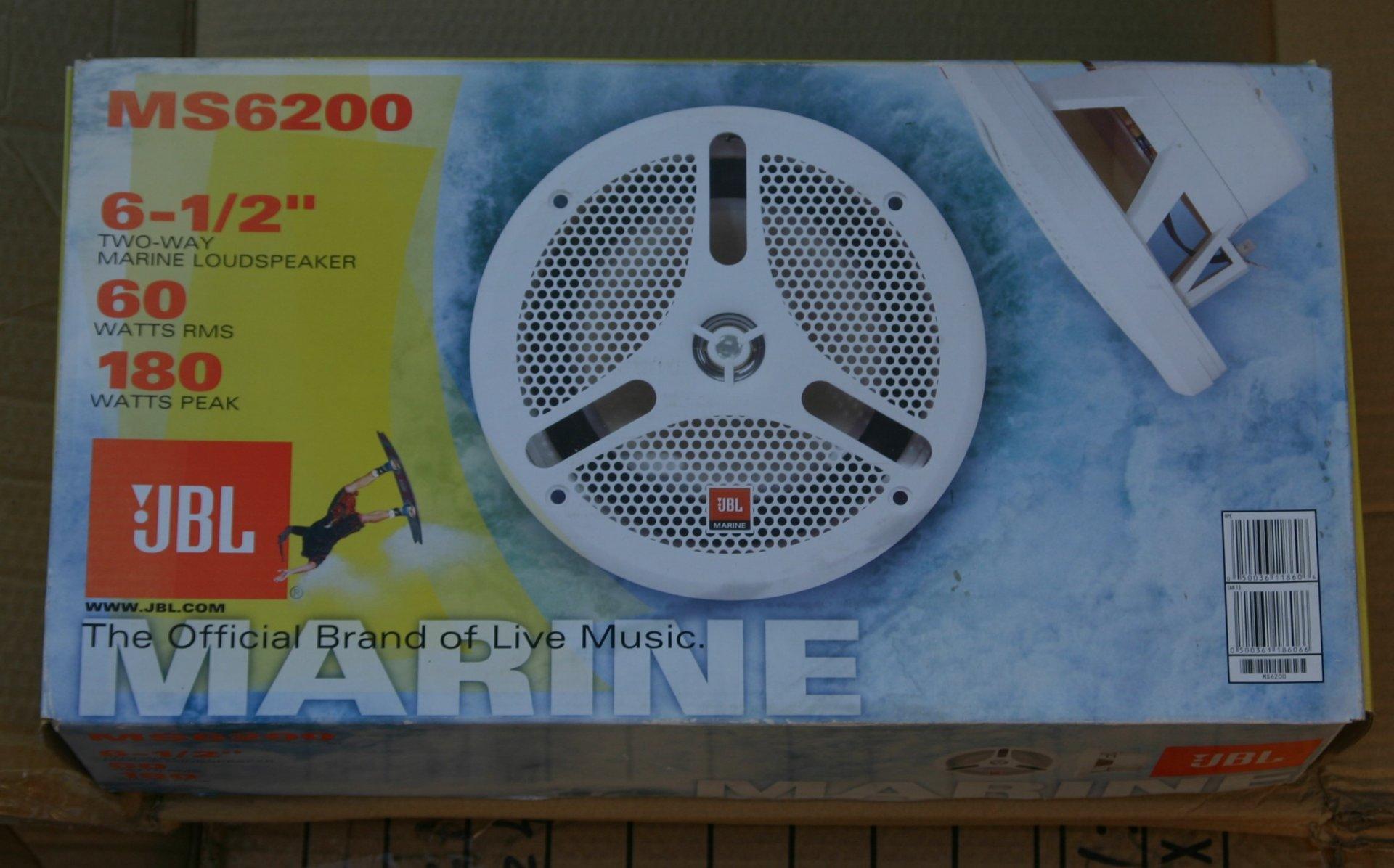 jbl marine speakers. 2 pairs of jbl ms-6200 marine speakers for sale. 6.5\ jbl