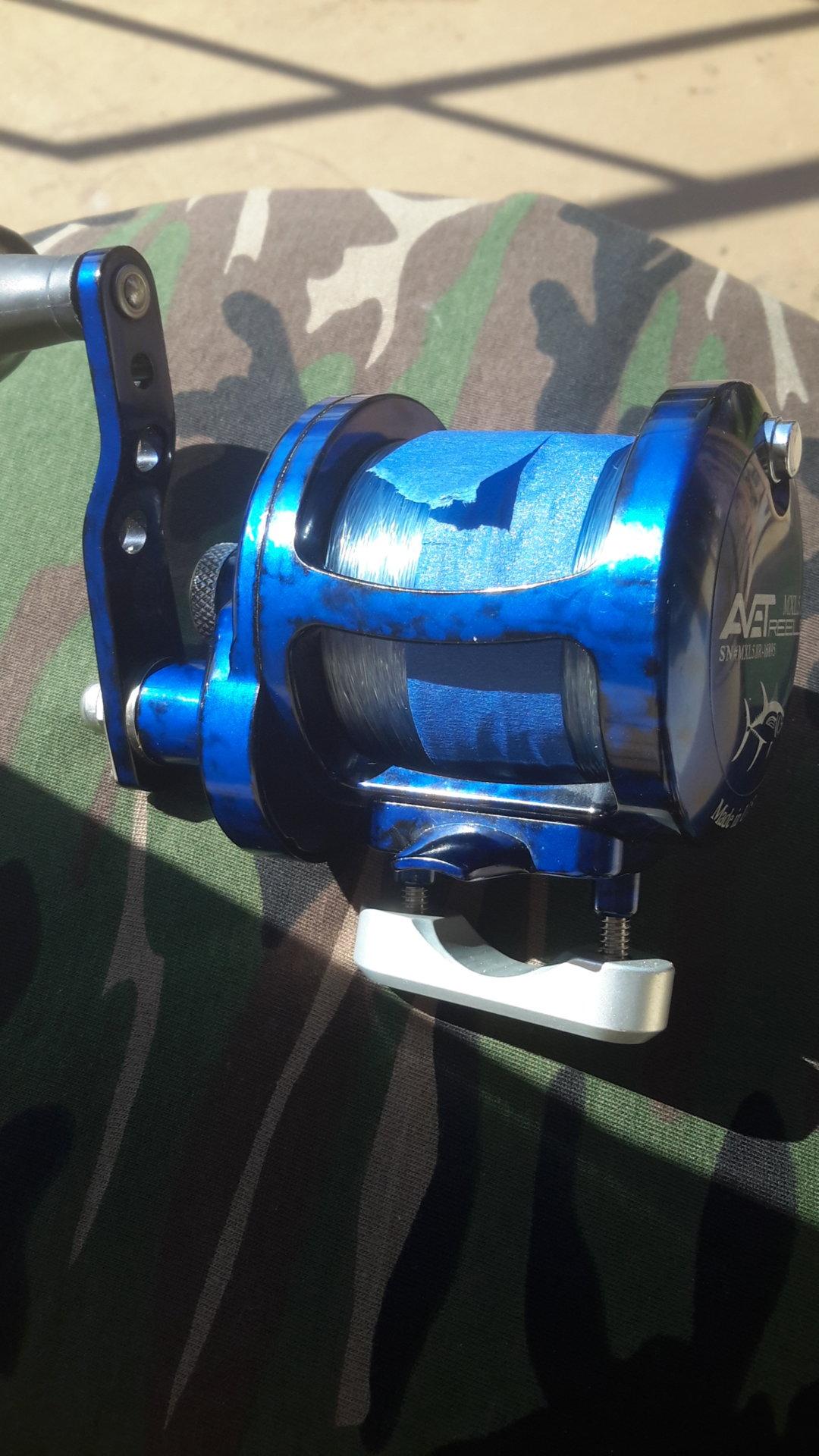 Avet mxl 5 8 1 camo blue | Bloodydecks