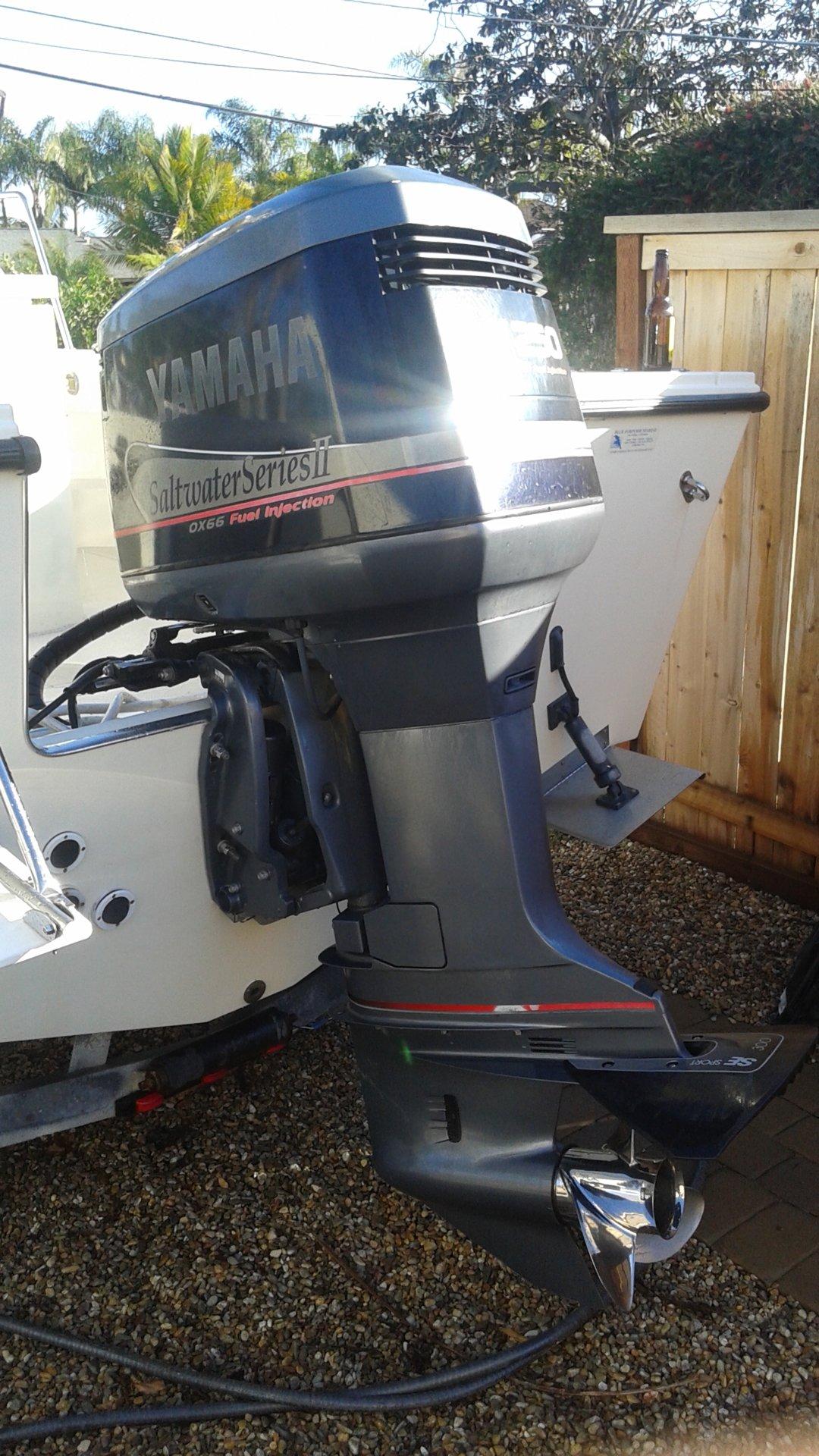 Yamaha 250 ox66 outboard 4500 bloodydecks for Yamaha 250 boat motor
