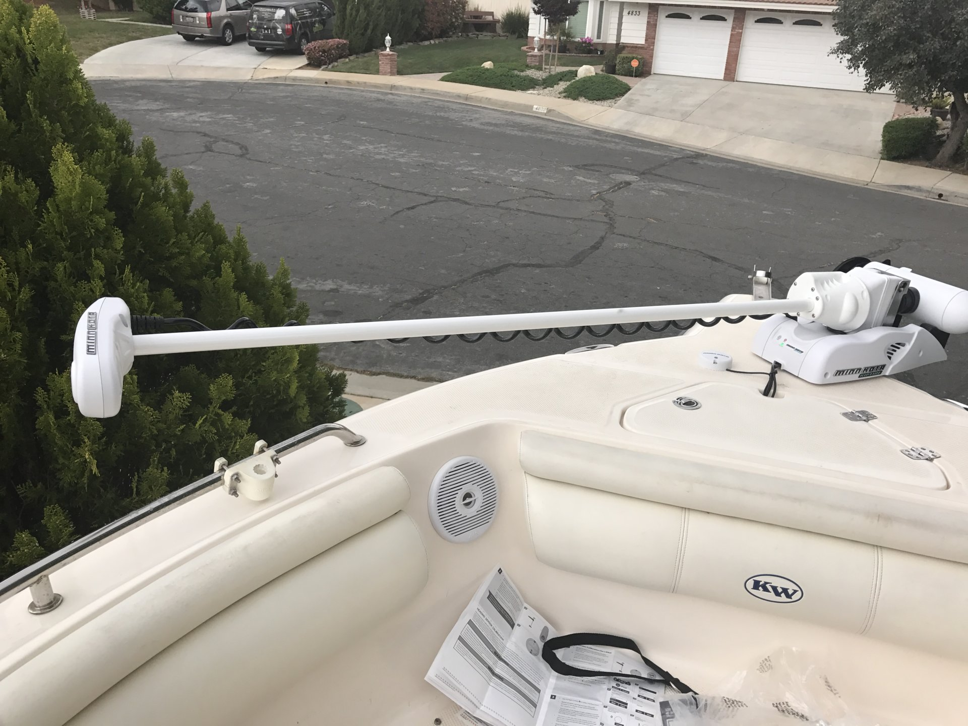 Anyone Successfully Install A Bow Mount Trolling Motor On