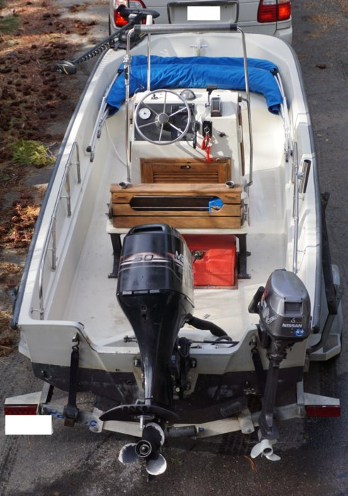 Sold 1989 Boston Whaler Montauk 7k Bloodydecks
