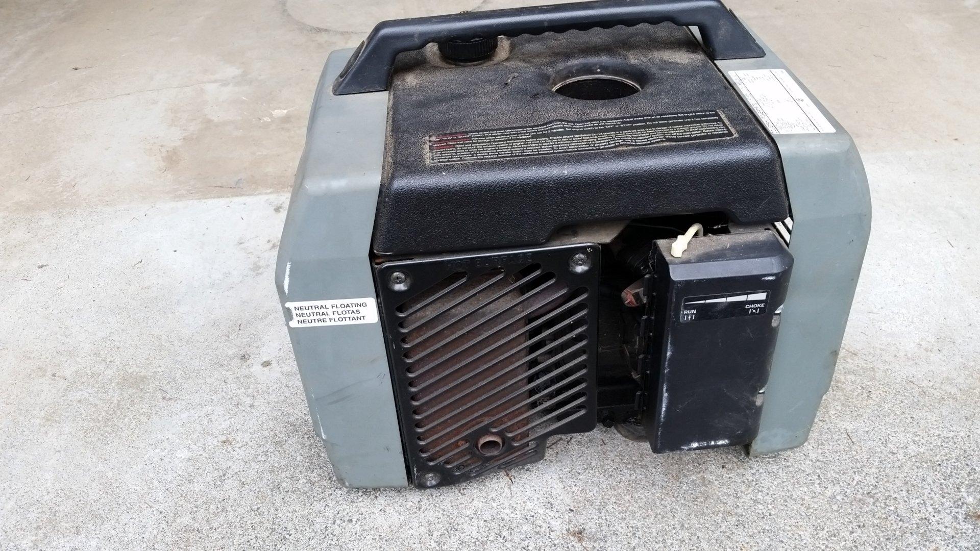What Size Generator For Rv >> Coleman Power Mate 1850 Generator | Bloodydecks