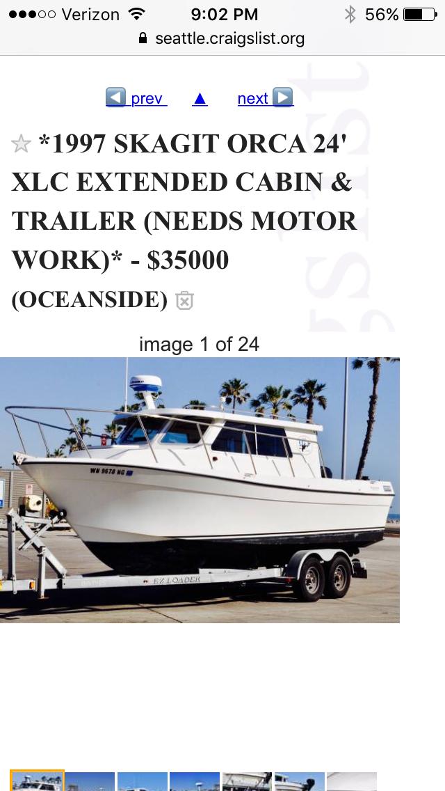 Boat buyer prospect  Smoking deal | Bloodydecks