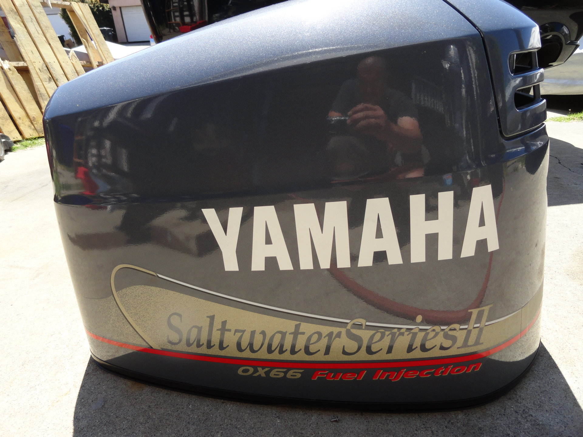 Yamaha 150 Outboard OX66 Fuel Injected 2000 Complete SALTWATER