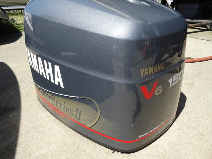 Yamaha 150 outboard ox66 fuel injected 2000 complete for Yamaha saltwater series ii