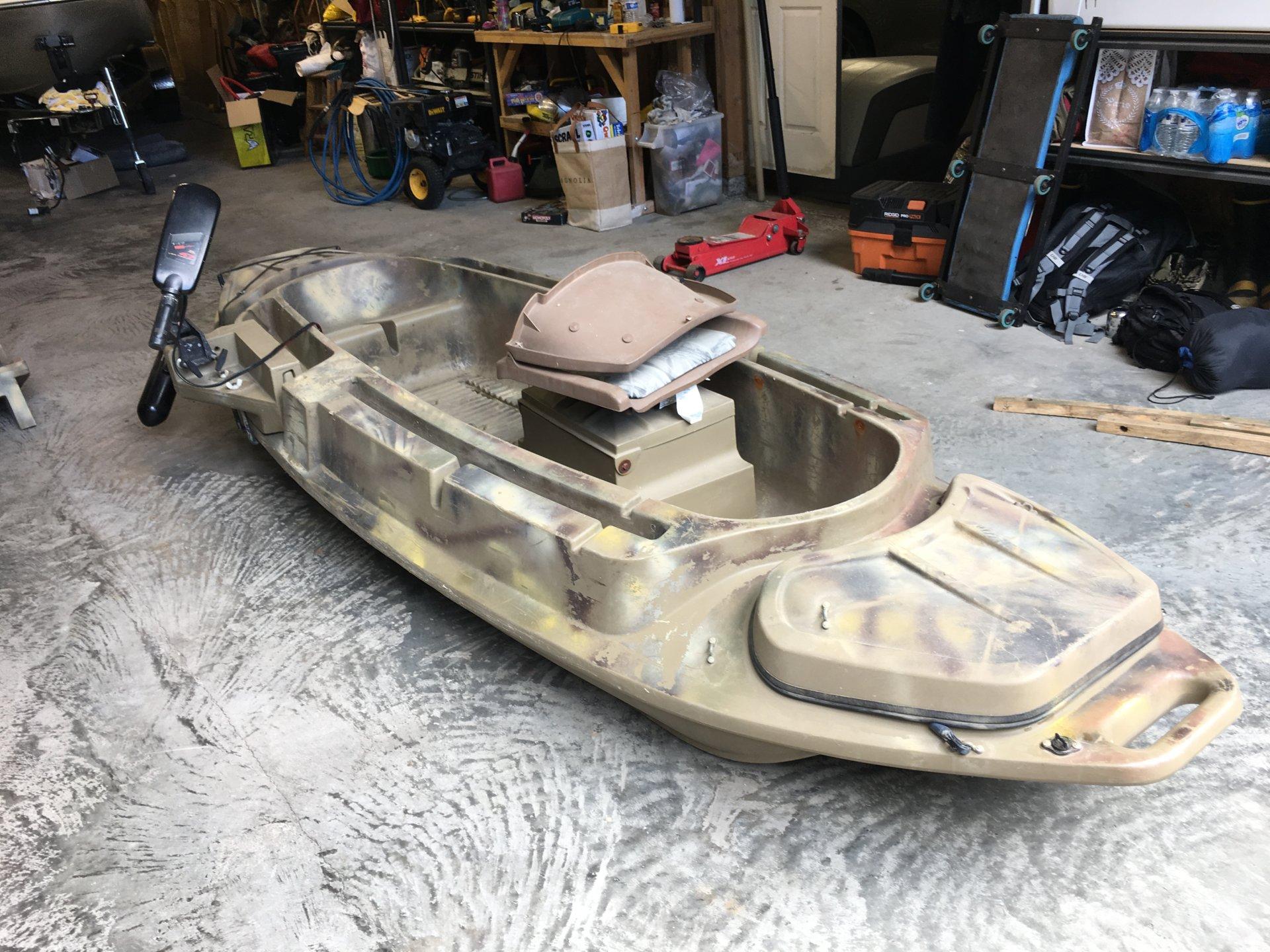 Beavertail 1200 Layout Duck Boat Bloodydecks