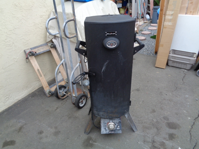 Bbq Grillware Propane Smoker For Sale Bloodydecks