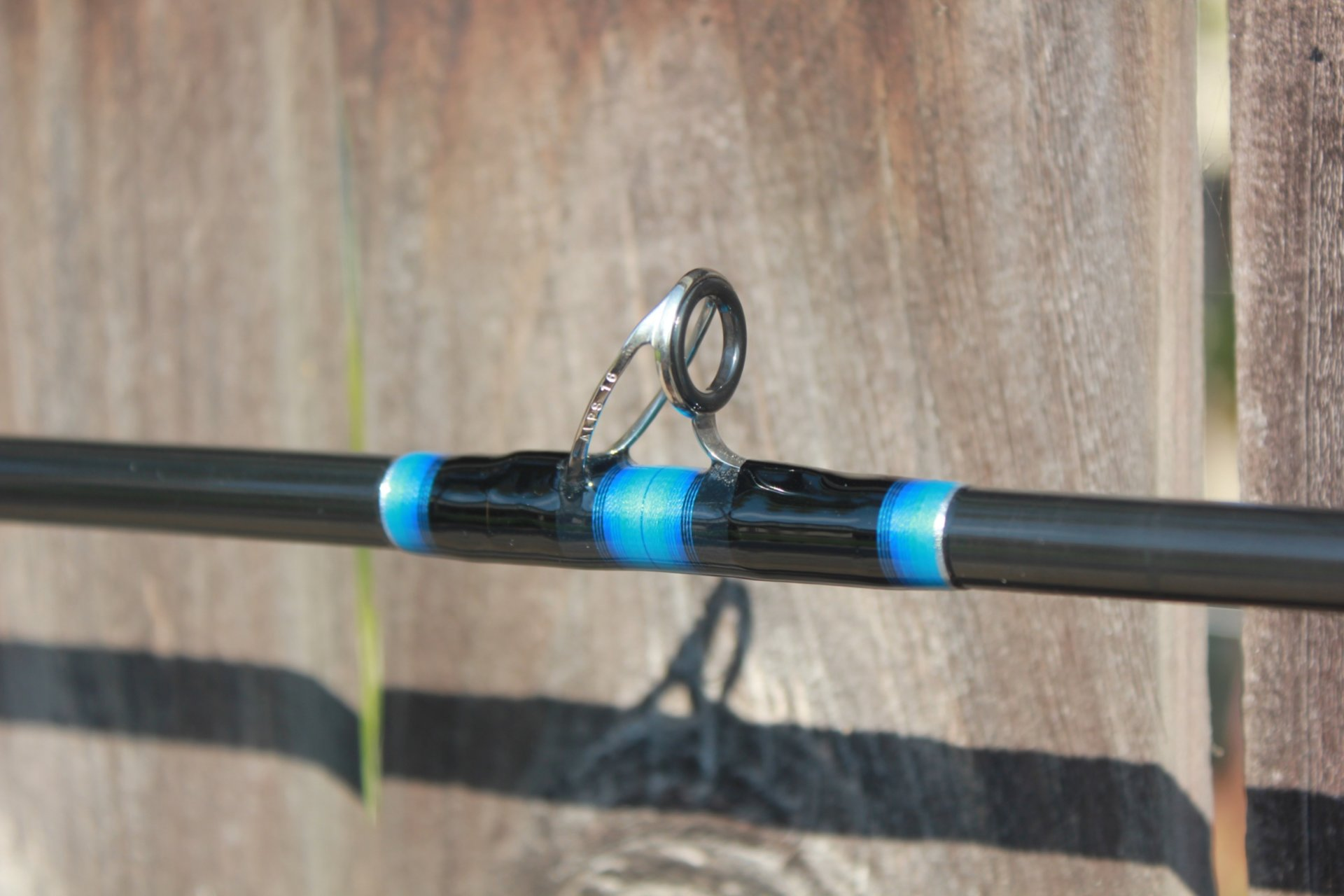Three beautifully wrapped rainshadow rods for sale for Custom fishing rods for sale