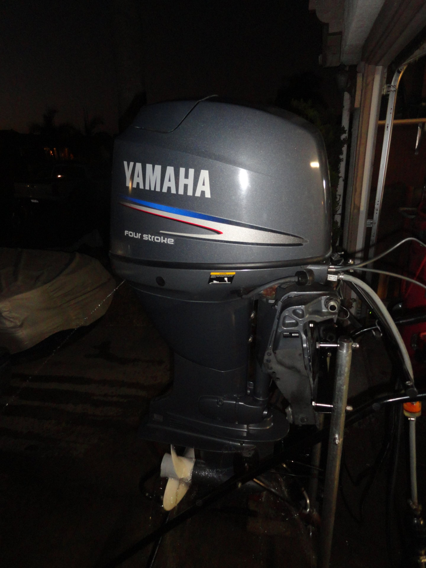 Yamaha f50 outboard motor 142 hours clean fuel injected for Yamaha outboard service san diego