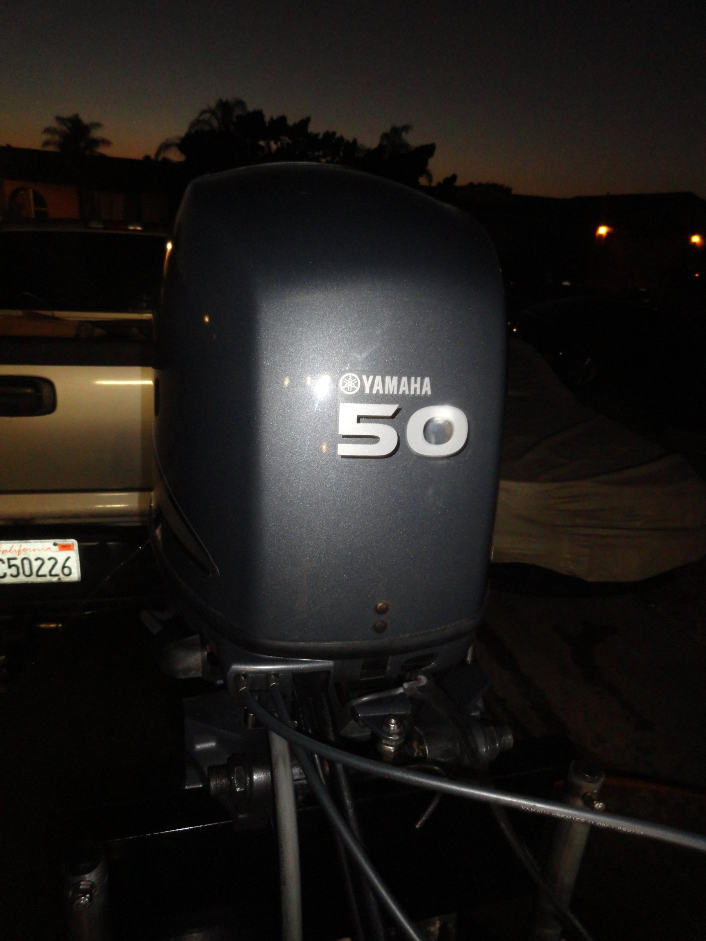 Yamaha F50 Outboard Motor 142 Hours Clean Fuel Injected