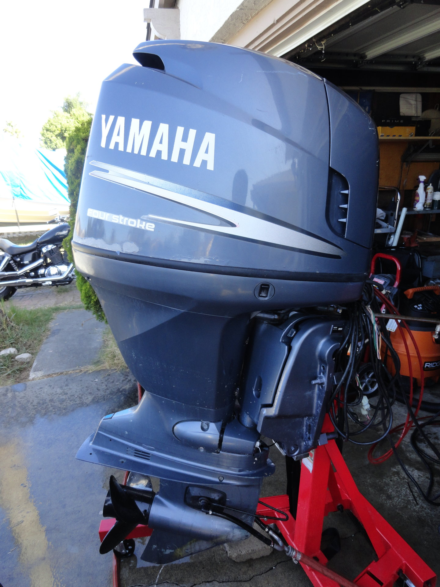 Yamaha F115 Fourstroke Outboard Fuel Injected   Full Service