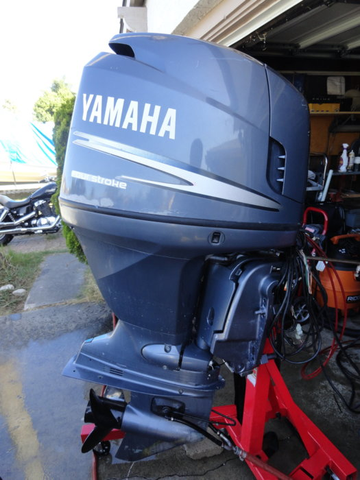 Yamaha f115 fourstroke outboard fuel injected full for Yamaha outboard service san diego
