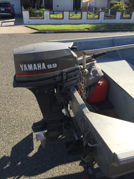 14 westerner skiff need gone bloodydecks for Yamaha outboard service san diego