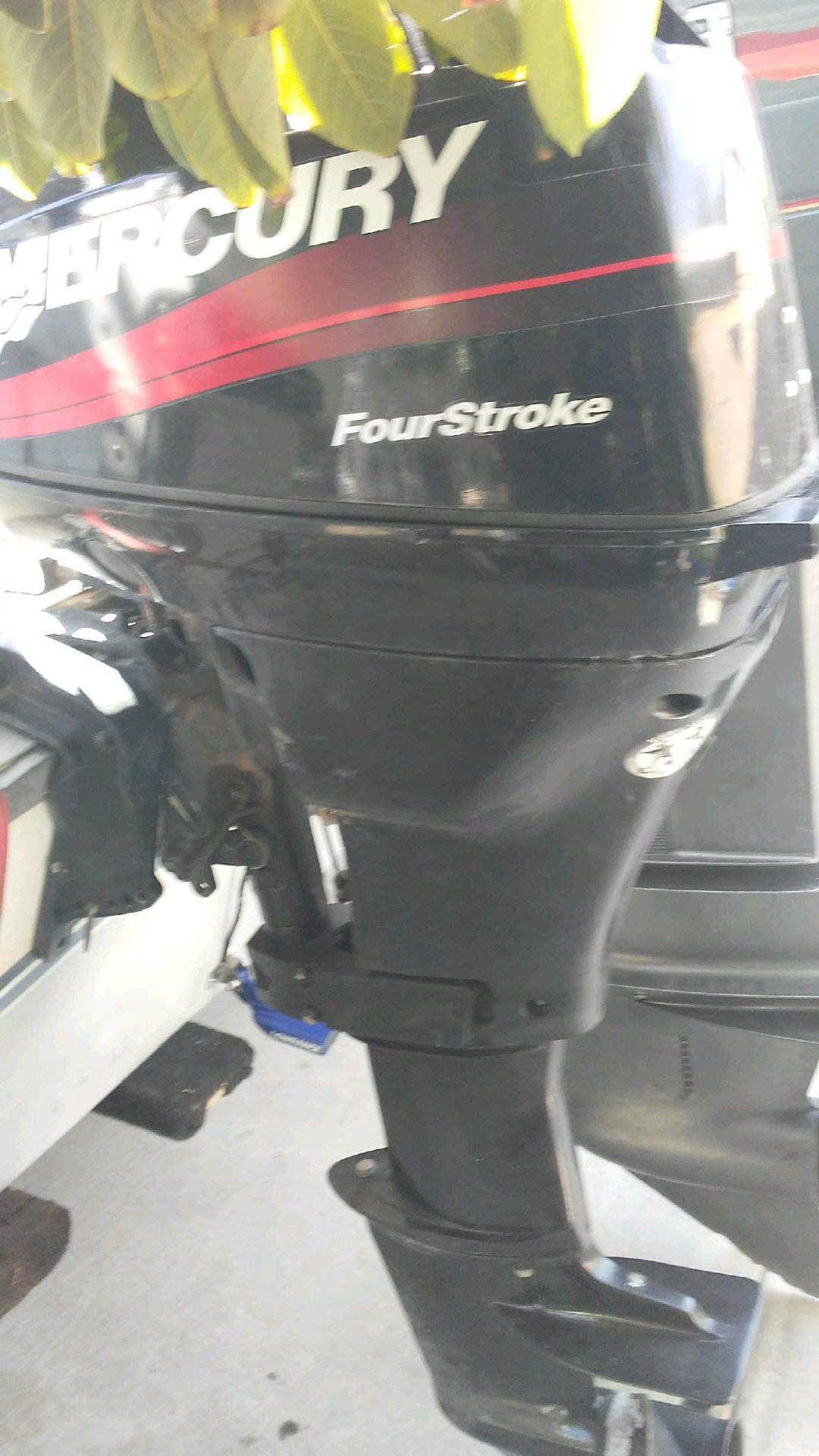 2002 15HP 4 stroke Mercury $1200 | Bloodydecks